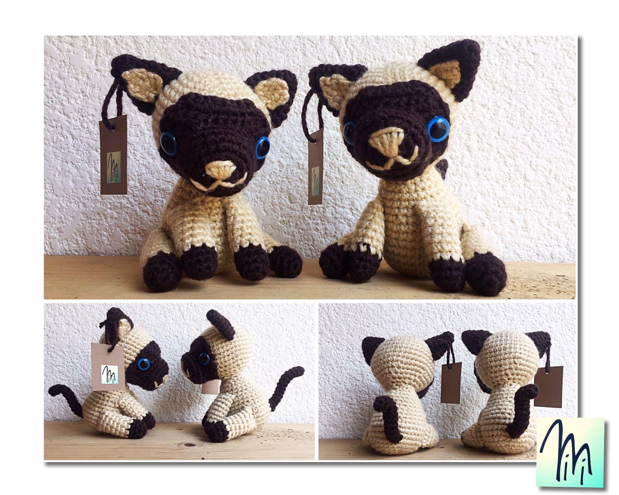 Lujo Patrones Afganos Ganchillo Gato Libre Friso - Ideas de Patrones ...