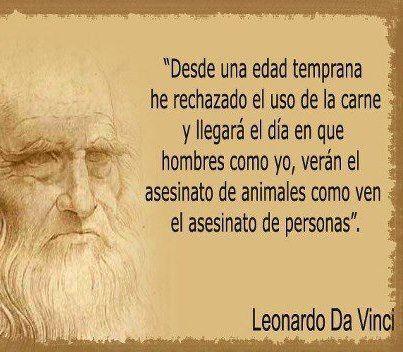 Leonardo da Vinci no comía carne y pensaba que matar animales era un asesinato que debería castigarse