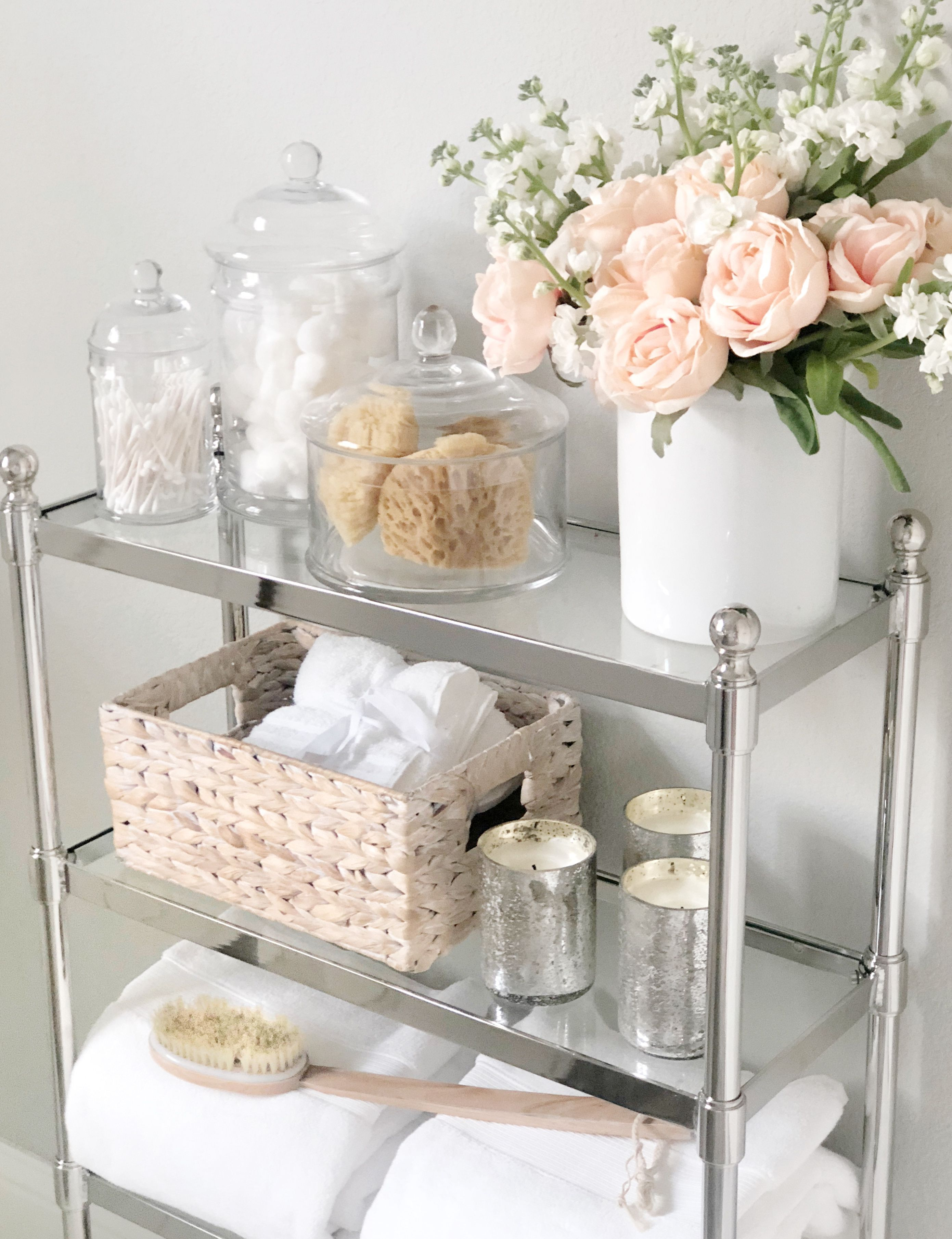 Photo of Bathroom Update: Adding Stylish Storage to Control the Clutter – My Texas House