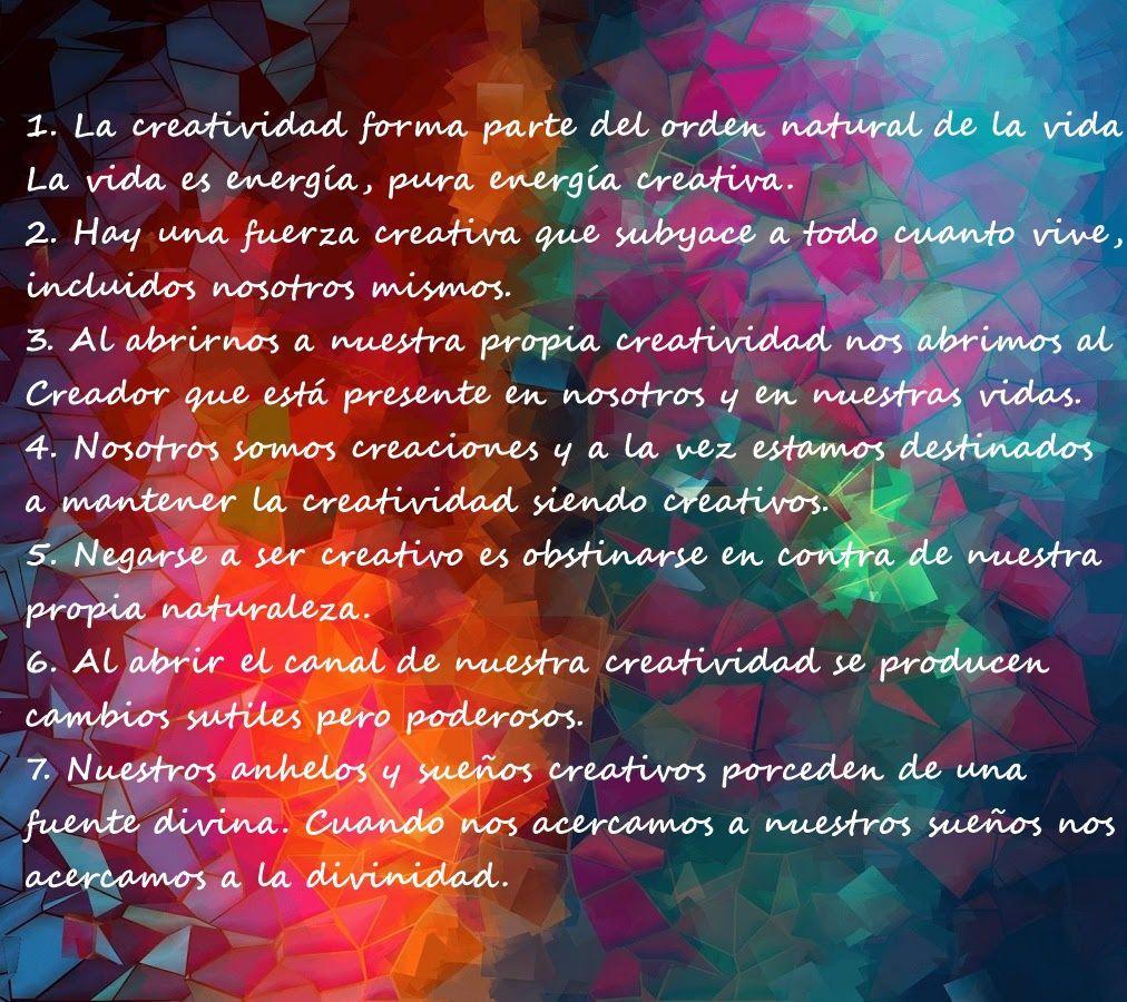 El Camino Del Artista Artistas Proceso Creativo Creatividad