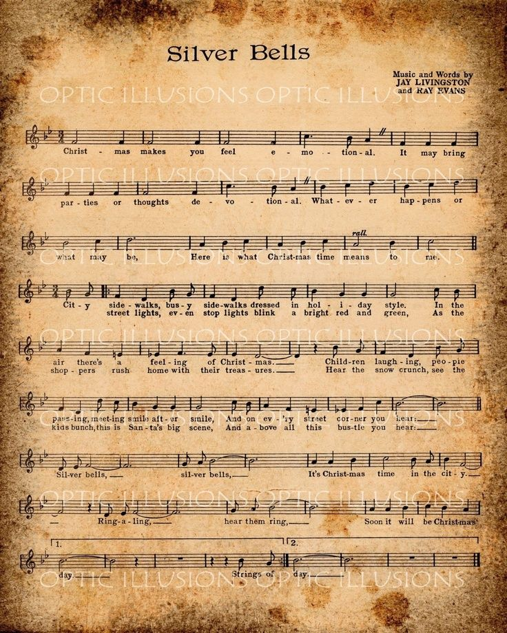 Free Printable Christmas Sheet Music