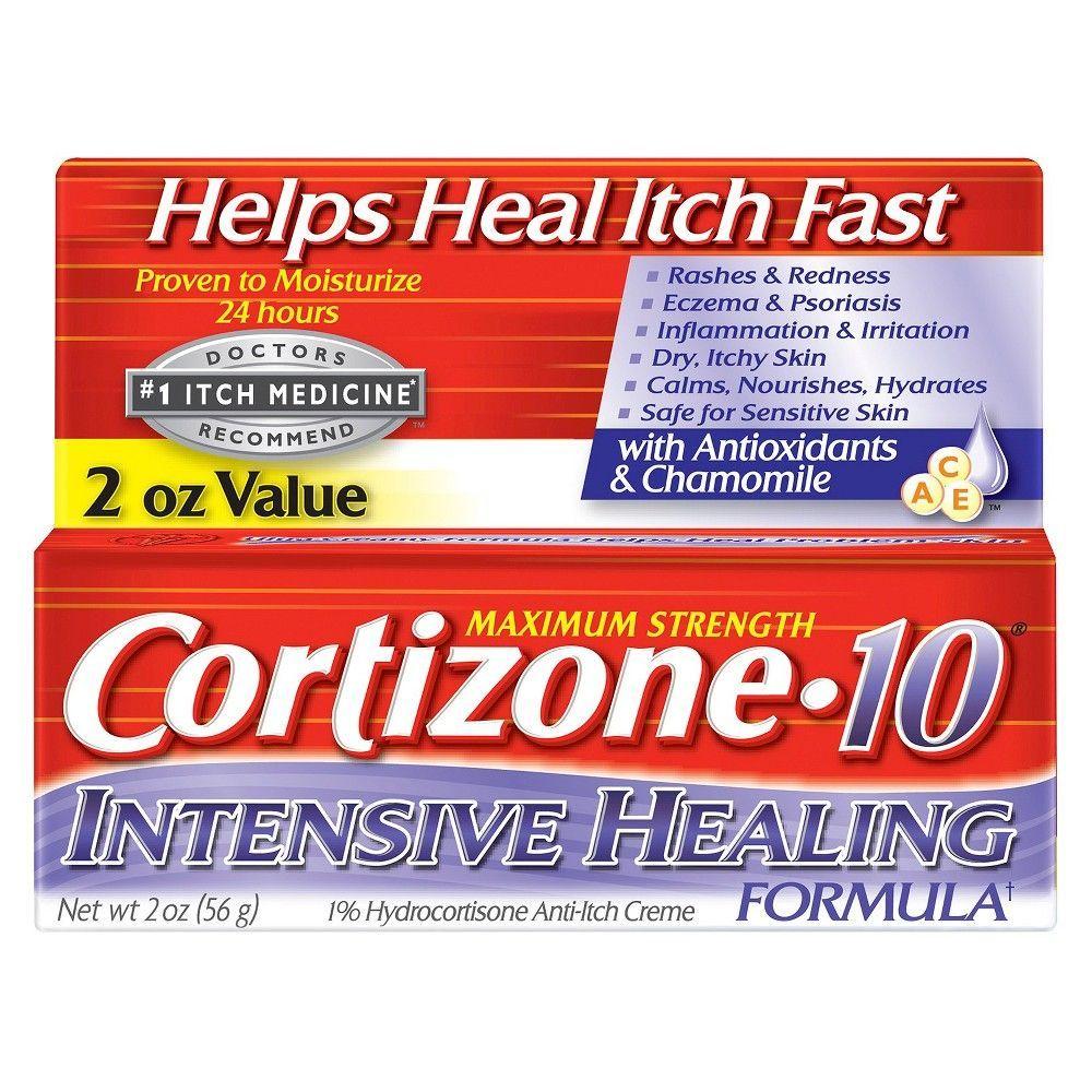 Cortizone 10 Intensive Healing Anti Itch Creme 2oz Anti Itch