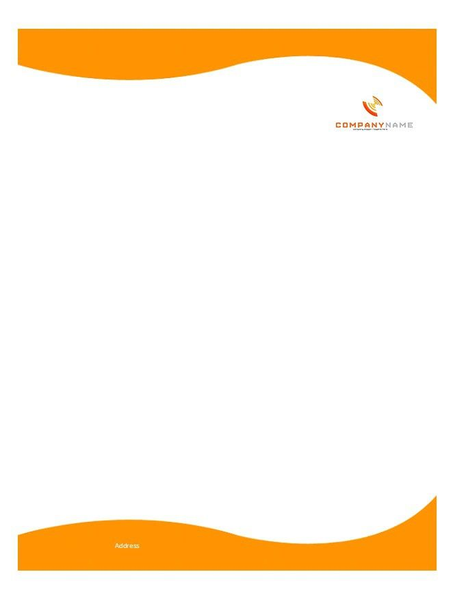 Letterhead Template 11 johns Pinterest Letterhead template - free letterhead templates for word