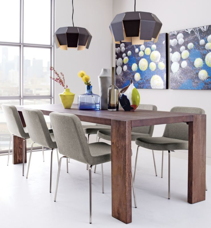 Blox 35x91 Dining Table Decore Mango Wood Dining Table