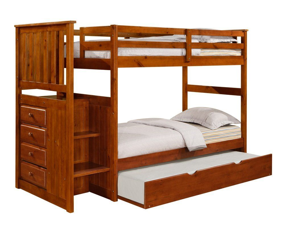 Loft bed with twin underneath  Awesome Trundle Bunk Beds  avityawesometrundle