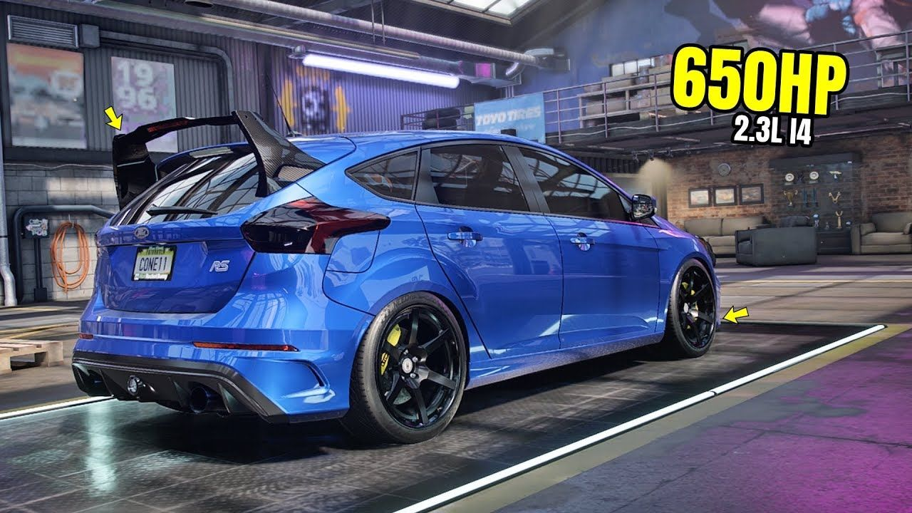 Need For Speed Heat Gameplay 650hp Ford Focus Rs Customization