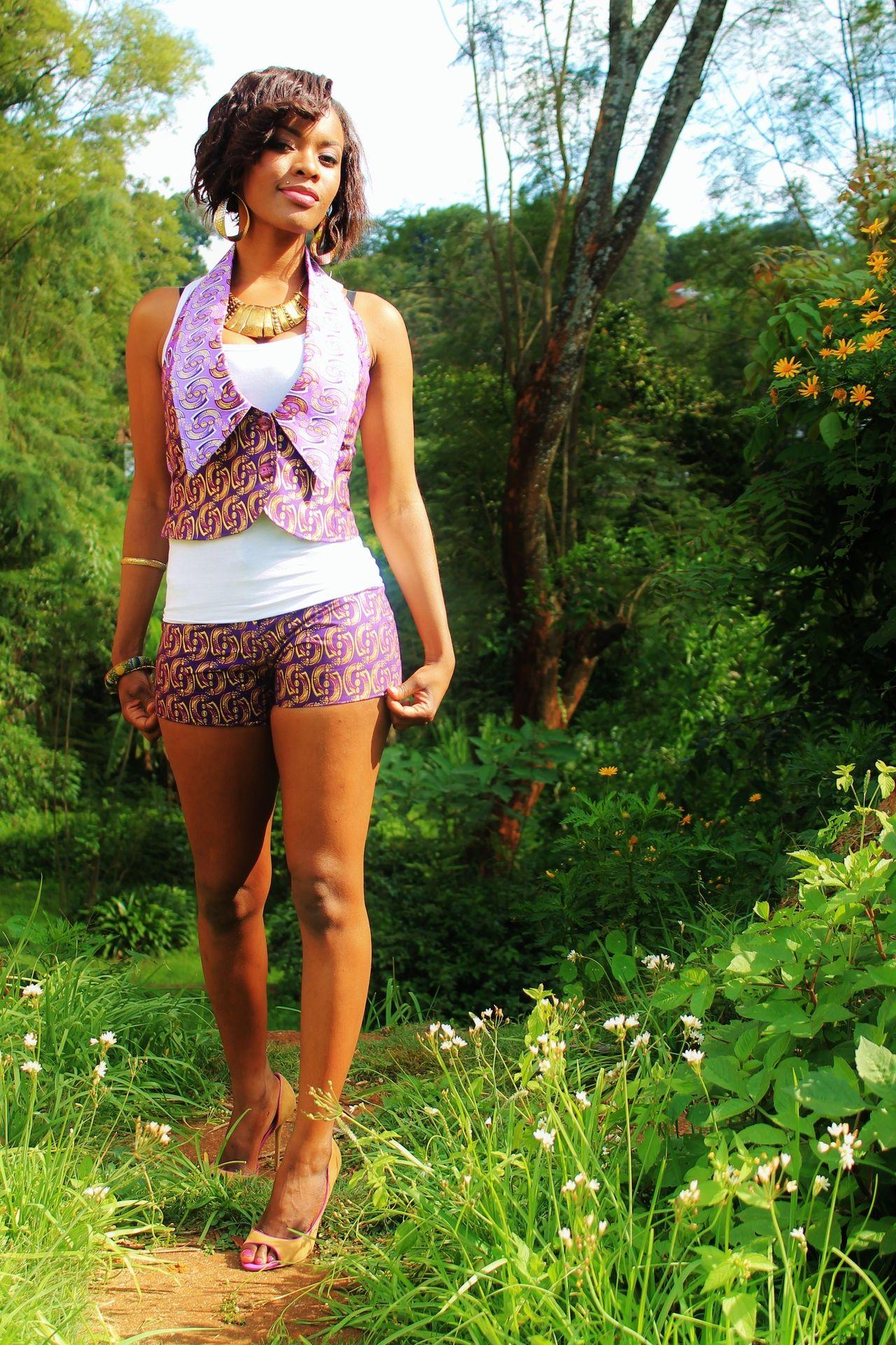 Waistcoat and shorts Ankara ~Latest African Fashion, African ...