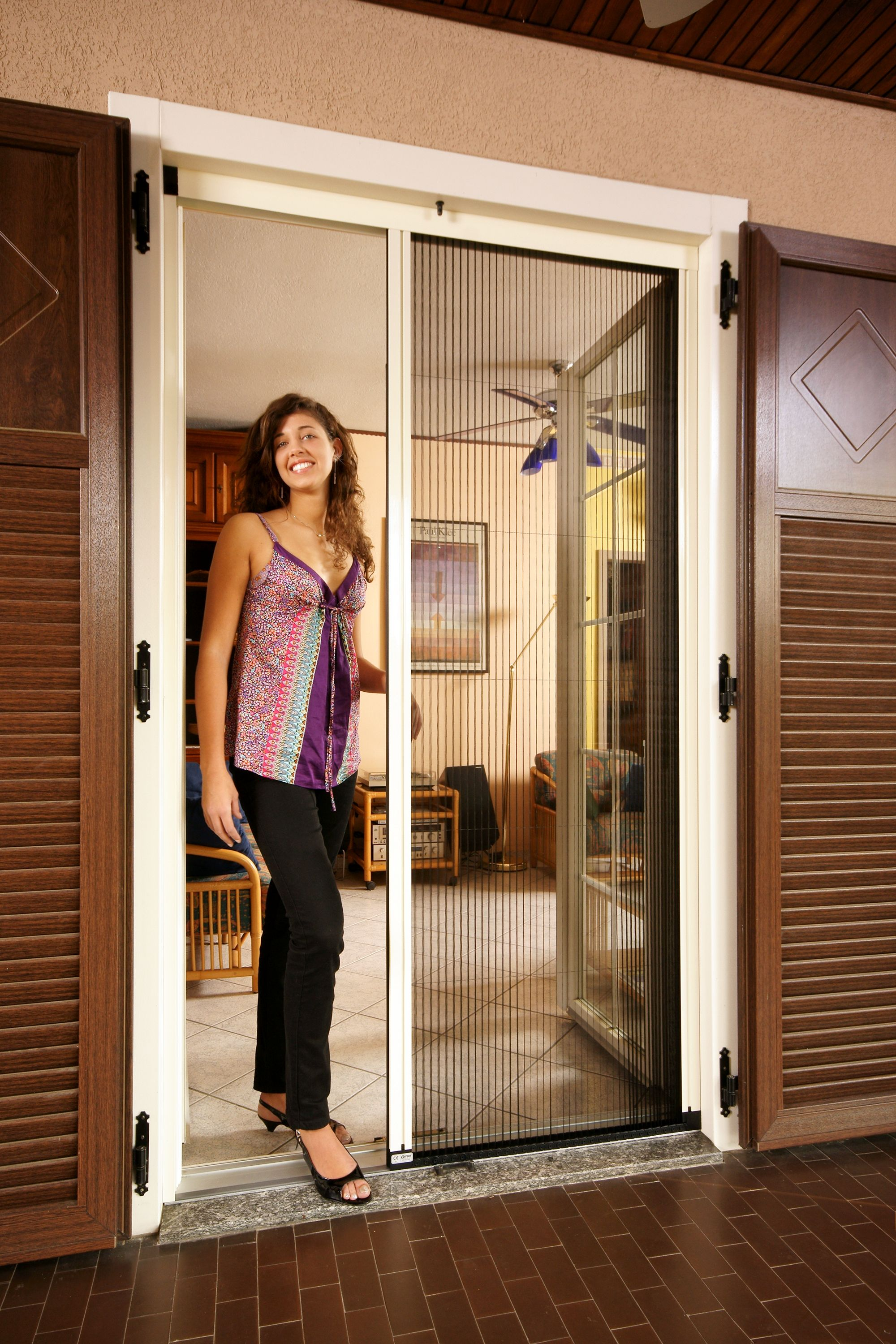 Larson Double Retractable Screen Door Http