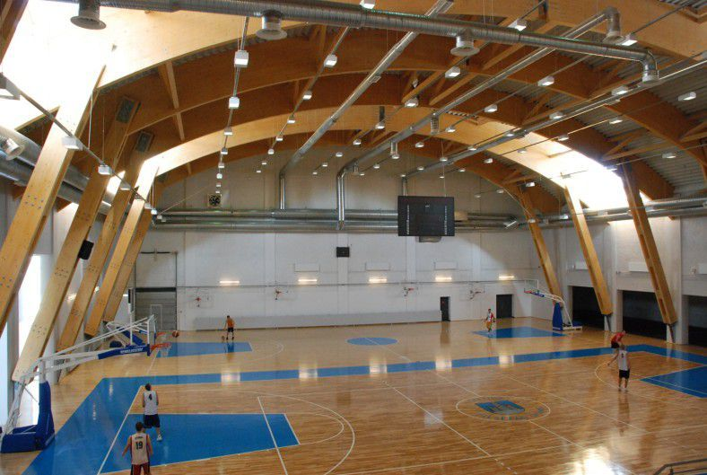 спортивный зал из БКДК Архитектура, Общественные здания, Дом