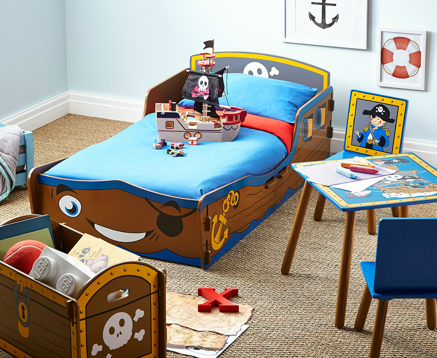 Pirate Themed Bedroom For A Toddler. Click Here To Find Out More: Http: