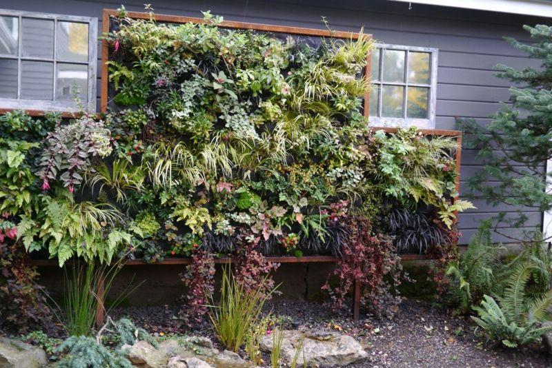 Ein Vertikaler Garten Selber Bauen Schritt Fur Schritt Anleitung