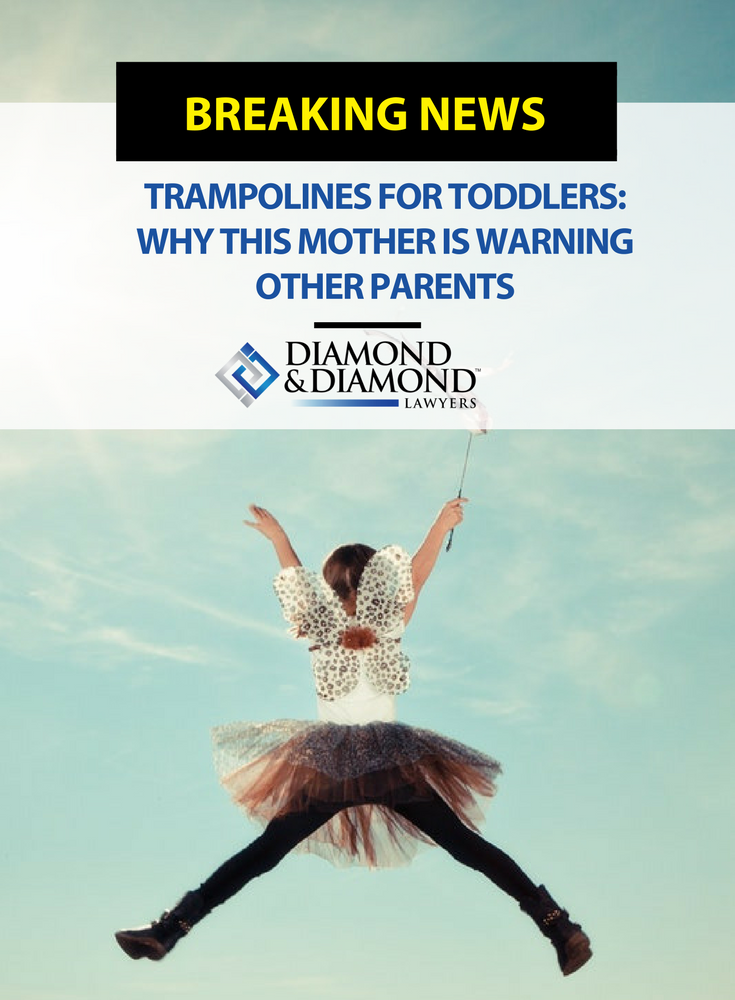 Trampolines for toddlers: Why this mother is warning other ...