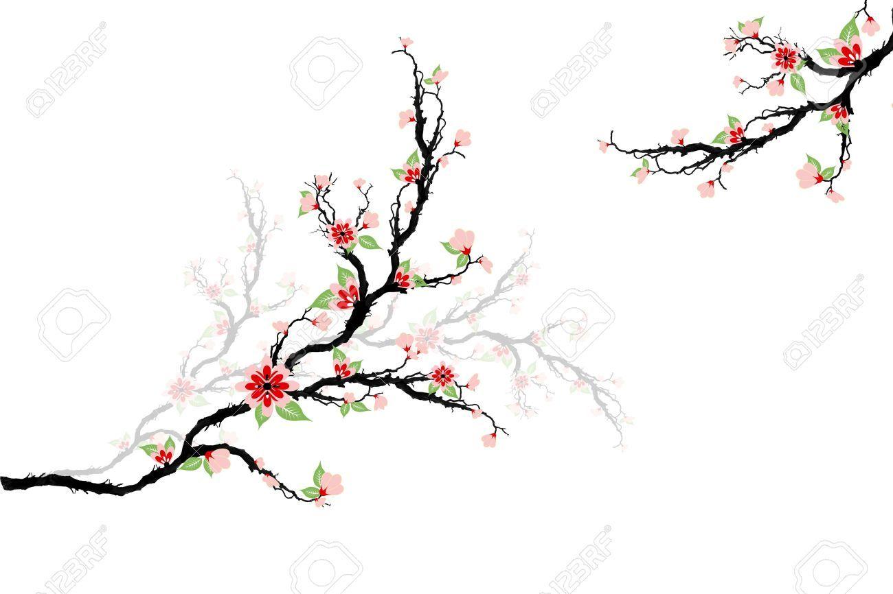Cherry Tree Branch Silhouette Google Search Blossom Trees Cherry Blossom Tree Free Stencils