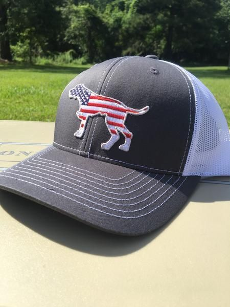 919bb3dfe648e Southern Dog USA Trucker Hats