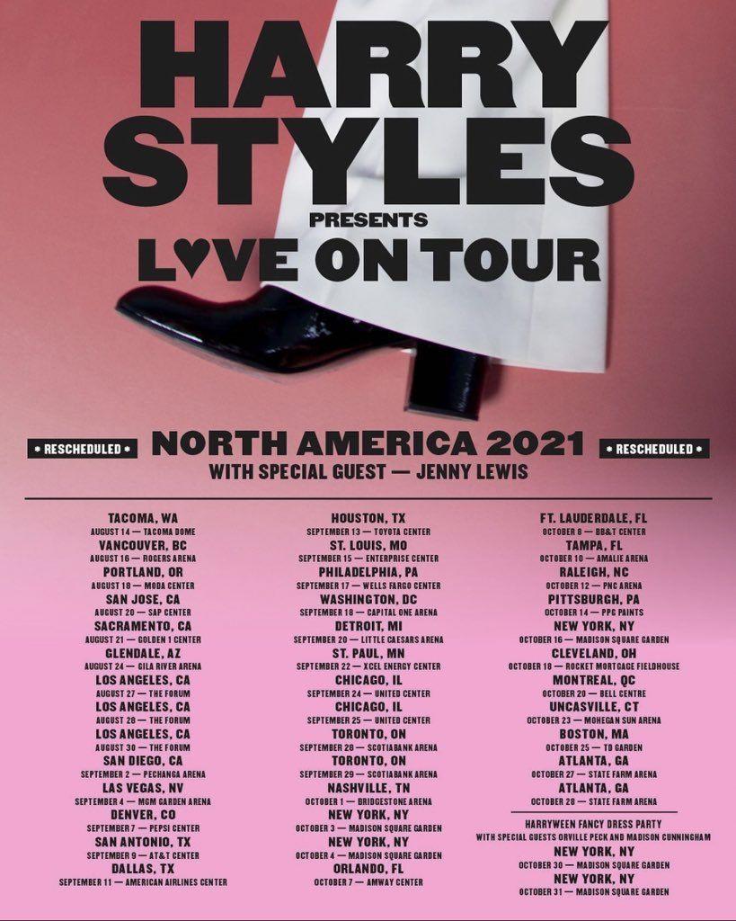 harry styles love on tour harry
