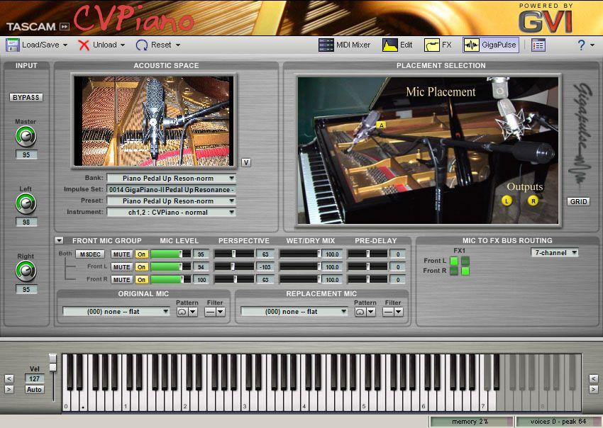 cvpiano grand piano lmms home studio music digital audio workstation digital dj. Black Bedroom Furniture Sets. Home Design Ideas