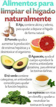 Alimentos que sanan el higado