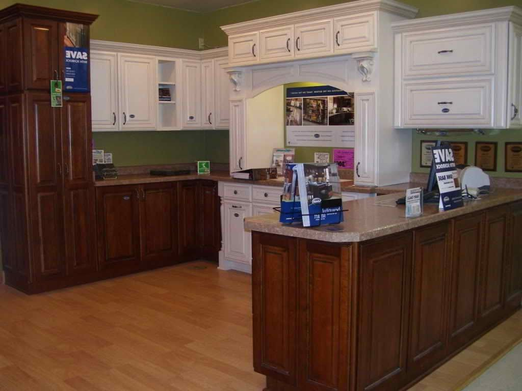 Menards In Stock Kitchen Cabinets / Carolina Hickory ...