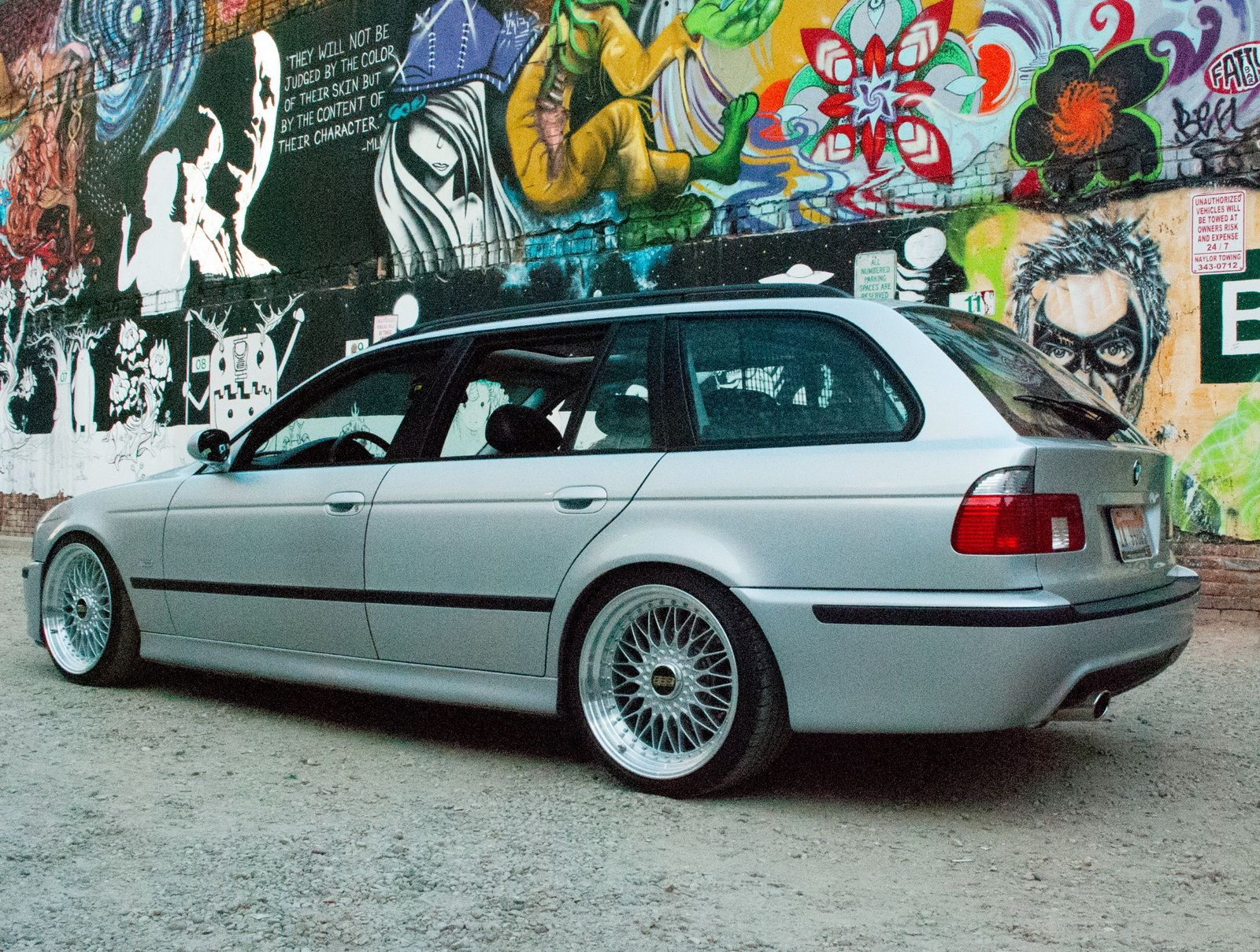 GTO-Powered E39 BMW 540i Touring With A Manual