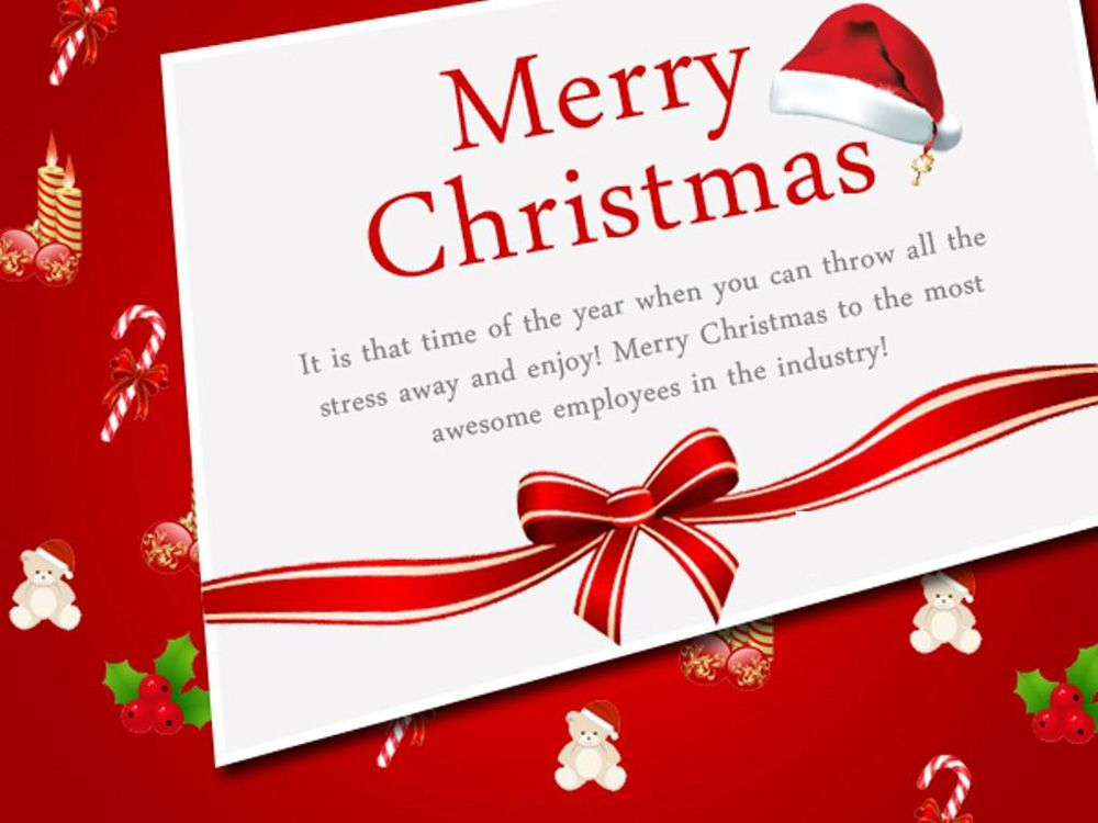56 Christmas Message For Employees To Appreciate Them Some Events Christmas Card Messages Merry Christmas Message Christmas Messages