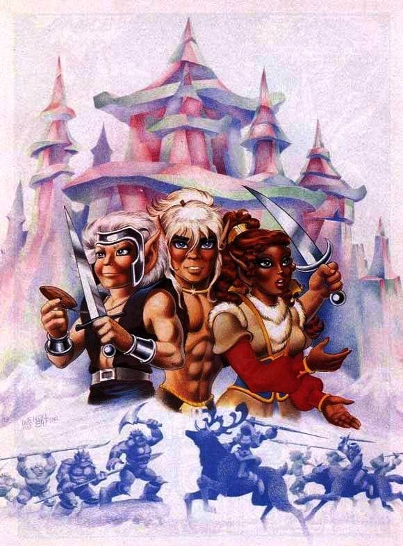 Elfquest Cover Art For Donning Starblaze Graphic Novel 4 Elfen