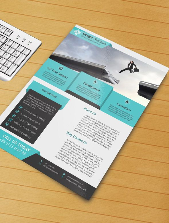 Free Business Flyer Psd Template Httpdesignyoutrust201410