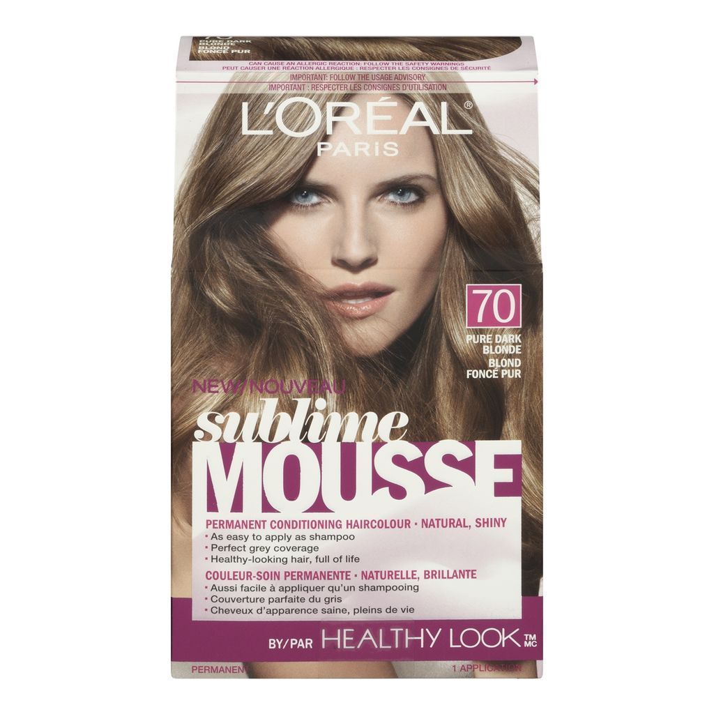 Lu0026#39;Oreal Paris Hair Color | Buy Lu0026#39;OREAL Paris Sublime Mousse By Healthy Look - Pure Dark Blonde ...