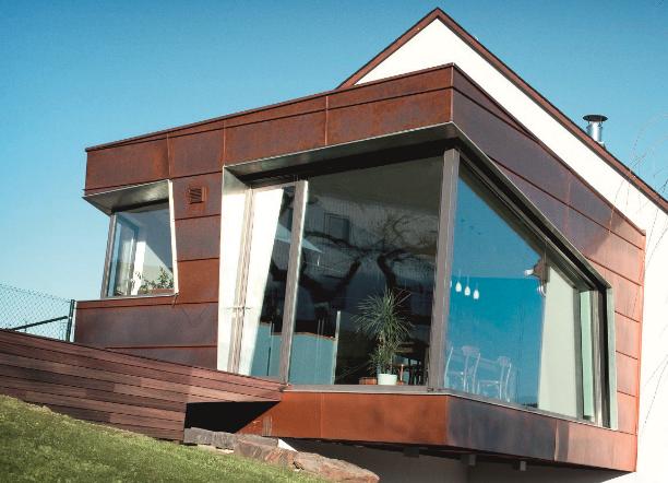 kupfer fassade vorpatiniert deko pinterest fassaden kupfer und dachs. Black Bedroom Furniture Sets. Home Design Ideas