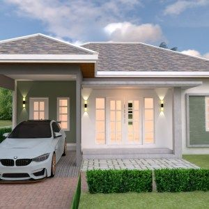 House Design Plan 9x10 5m With 5 Bedrooms In 2020 Duplex House Design Duplex House Plans Model House Plan