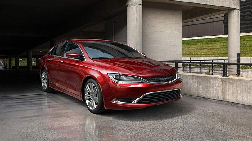 2015 Chrysler 200 Limited Red >> The All New 2015 Chrysler 200 Limited Comes Standard With