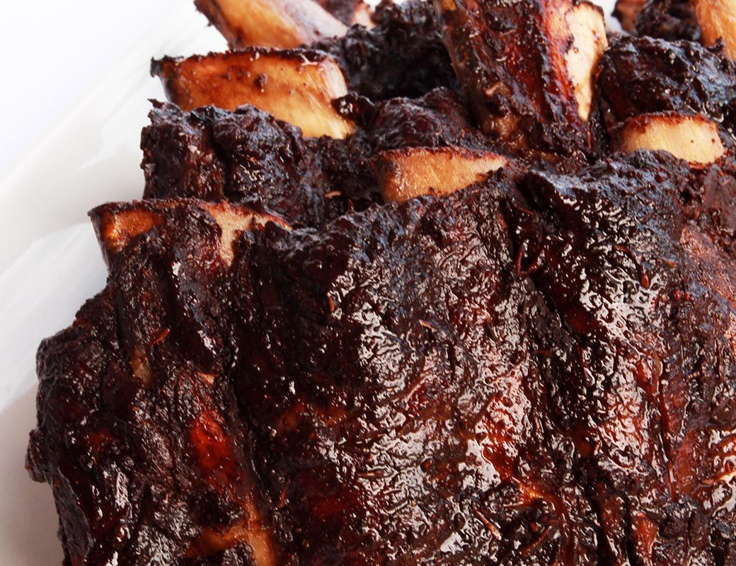 Smoked Cocoa Ancho Beef Ribs Low Carb Meats Atkins Recipes Recipes