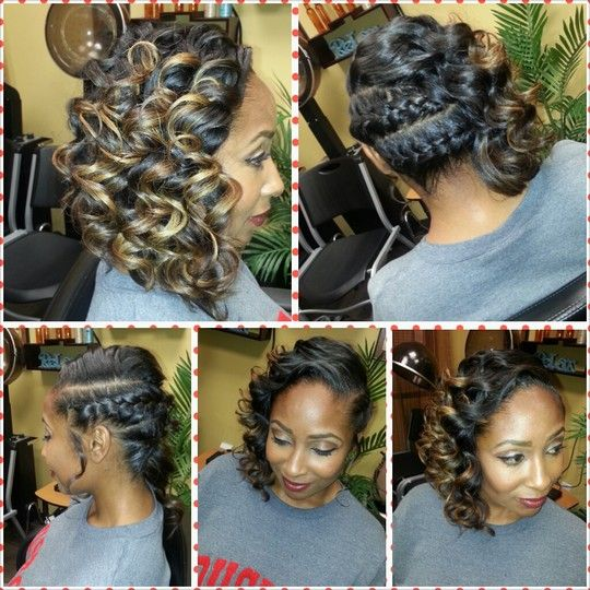 Riessie B S Photo On Styleseat Houston Tx Hair Stylist Beauty Braids With Curls Curly Hair Styles