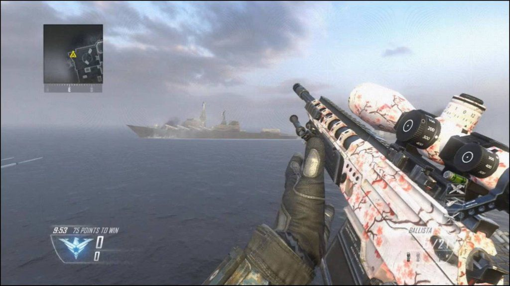 Call Of Duty Black Ops 2 Weapon Camos And Reticles Revealed