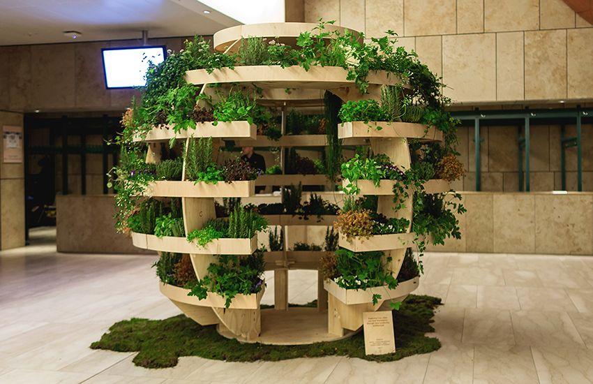 Growroom Vertical Garden From Ikea Source Http Greenerlifes 5575