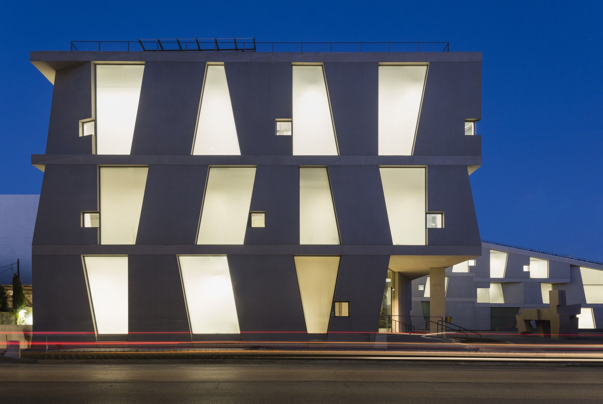 Glassell School Of Art Descontructivismo Arquitectura Escuela