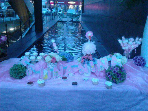 @Portfoliobox mesa de postres #flores