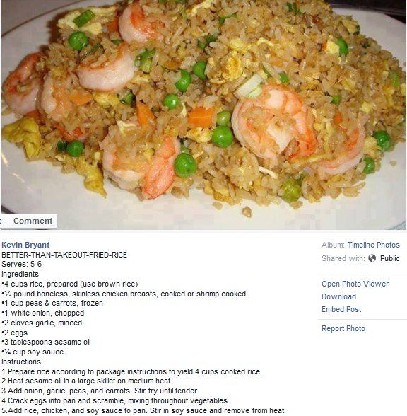 fried rice recipe with chicken or shrimp  asian recipes