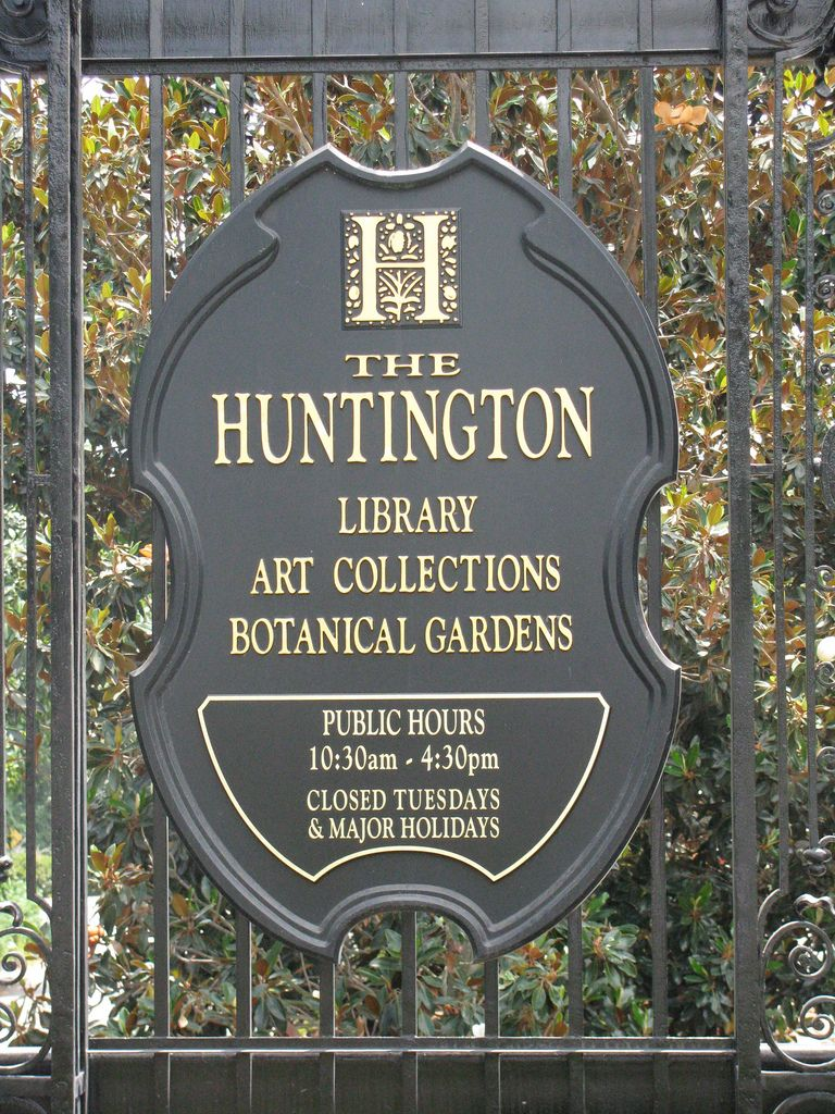 The Huntington Library, Art Collections, U0026 Botanical Gardens.
