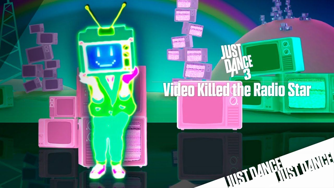 Just Dance 3 Video Killed The Radio Star