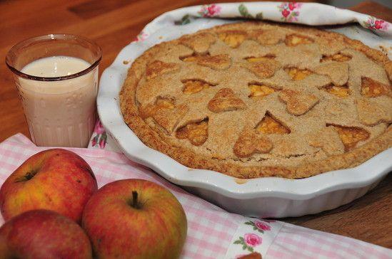 Veganer American Apple Pie - veganpowercooking