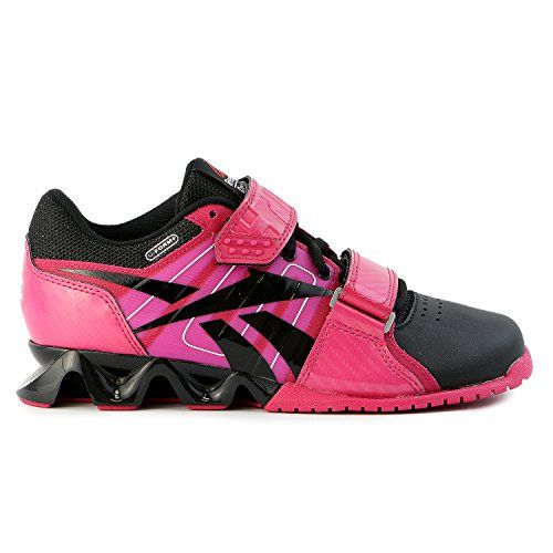 Reebok Crossfit Lifter Plus Cross Training Sneaker Shoe - Black Pink White  - Womens 24425b868
