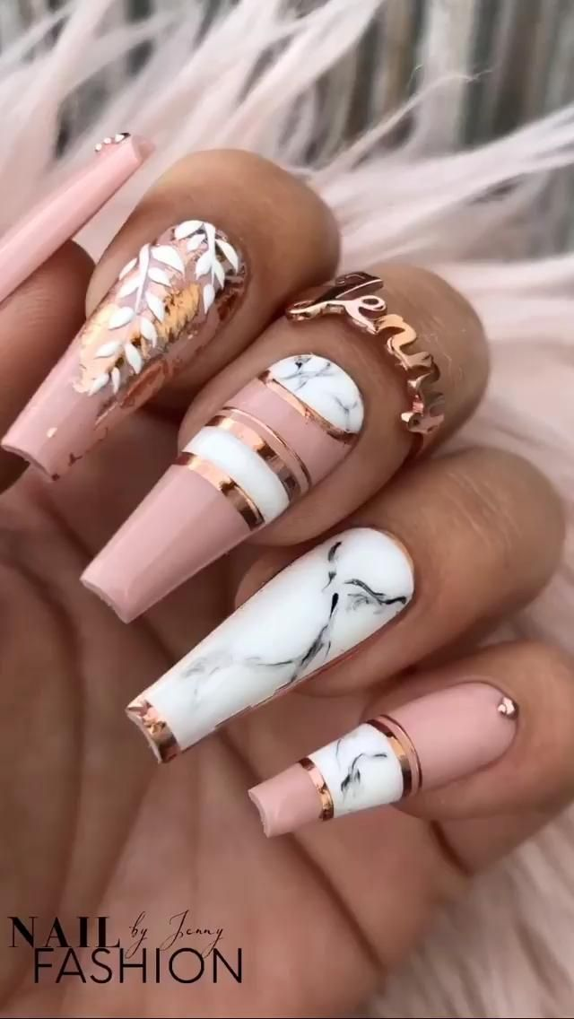 Pink Marble Love