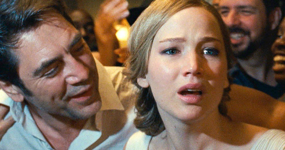 Mother Review Jennifer Lawrence Goes Full Rosemary S Baby Jennifer Lawrence Movies Baby Movie