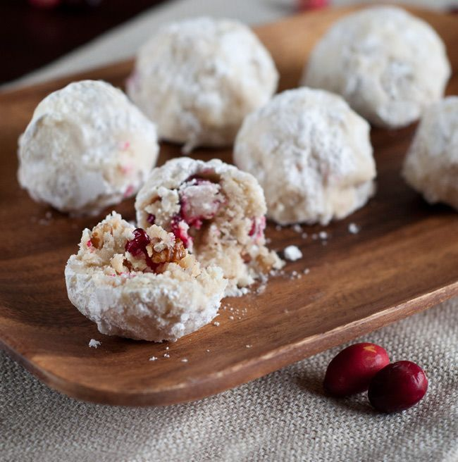 Recipe For Mexican Wedding Cookies: Cranberry Pistachio Mexican Wedding Cookies