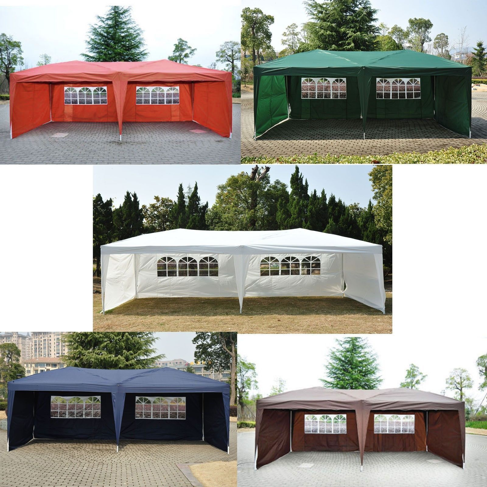 Awnings and Canopies 9 X 14 Outdoor Patio Gazebo Ez Pop Up