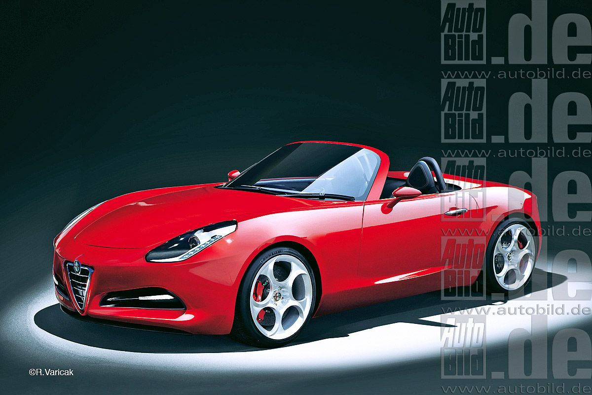 2021 Alfa Romeo Duetto Redesign and Concept