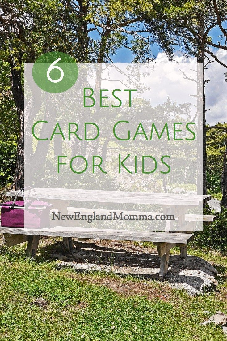 6 Best Card Games For Kids Family Games And Activities Pinterest