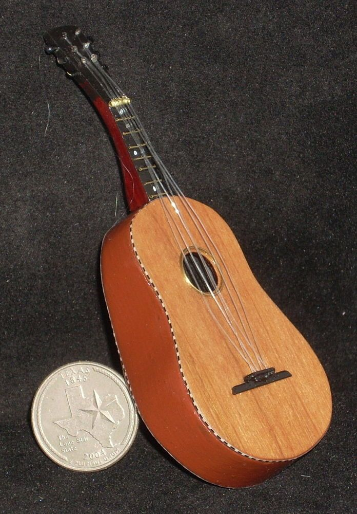 dollhouse miniature wooden mariachi guitarron guitar 1 12 musical instrument in 2019 miniature. Black Bedroom Furniture Sets. Home Design Ideas