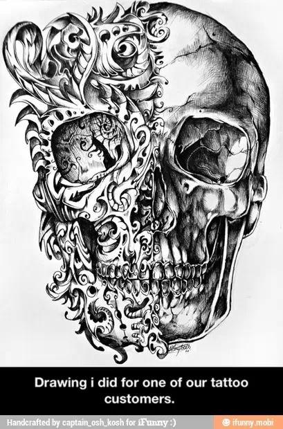 Two Face Tattoos Pinterest Tattoos Skull Tattoo Design And