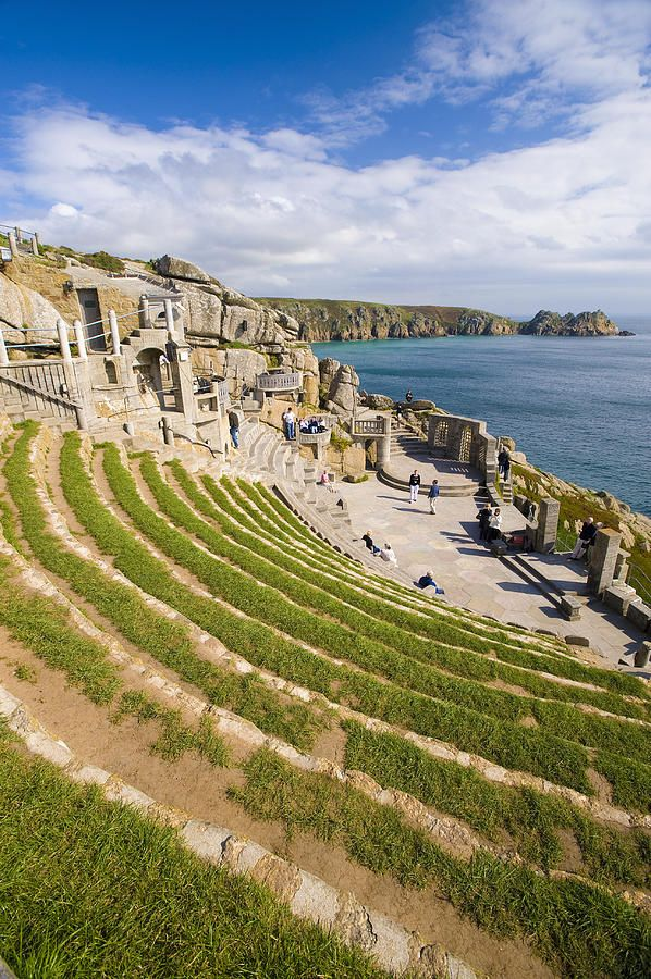 Minack Open Air Theatre, Cornwall, England Special